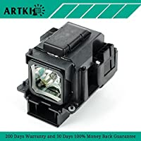 VT70LP Replacement Lamp with Housing for Projector NEC VT37 VT47 VT570 VT575 (By Artki)