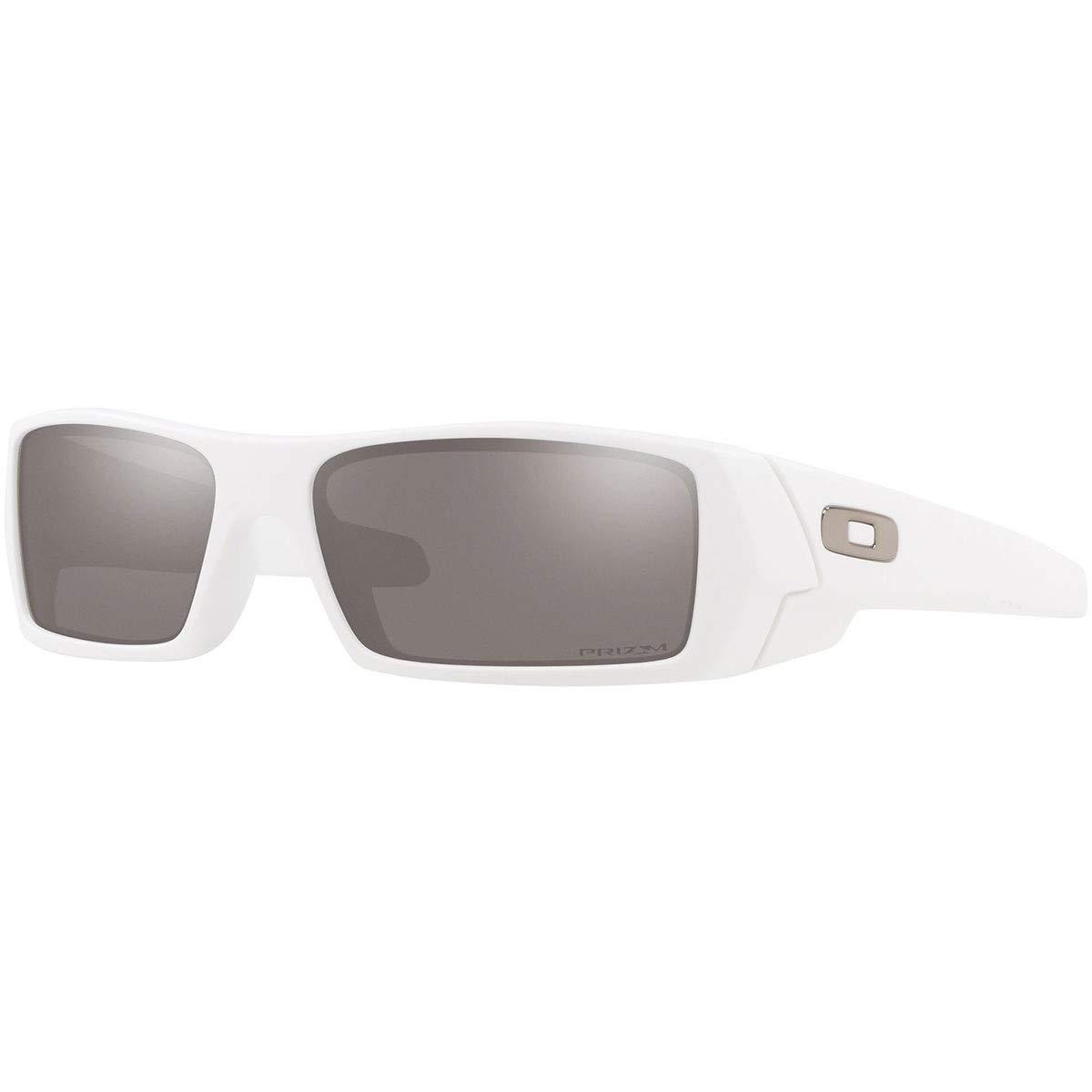 c6be567c1a Amazon.com: Oakley Men's Gascan Polarized Rectangular Sunglasses, Matte  Black, 60 mm: Clothing
