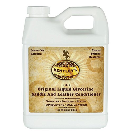 Forever Car Care Products Bentley Liquid Glycerine Saddle & Leather Conditioner Soap - 32 oz ()