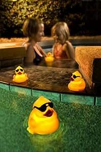 AquaGlow 3579-3M Light Up Ducks