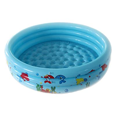 "Inflatable Pool, Blow Up Family Pool for Kids, Toddlers & Adult, Kiddie Pools, 37.4"" X 37.4"" X 9.8"", Ring Circles Swimming Pool Swim Center for Ages 3+, Outdoor, Garden, Summer Water Party: Arts, Crafts & Sewing"