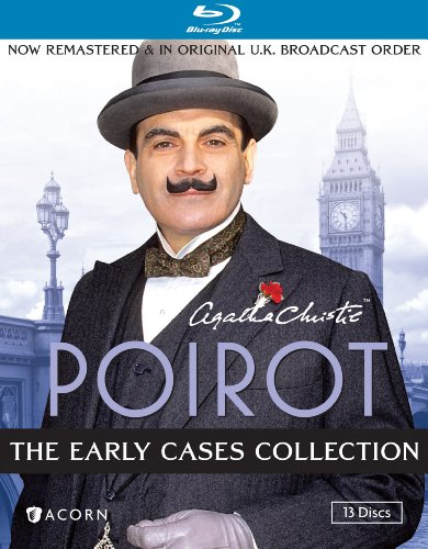 Agatha Christie's Poirot: The Early Cases Collection [Blu-ray]