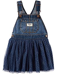 Girls' 2T-4T Denim and Tulle Jumper