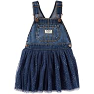OshKosh B'Gosh Girls' 2T-4T Denim and Tulle Jumper