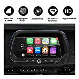 Product review for 2016-2018 Chevrolet Camaro MyLink 8 Inch Car Navigation Protective Film, Clear Tempered Glass HD and Protect your Eyes (8-Inch)