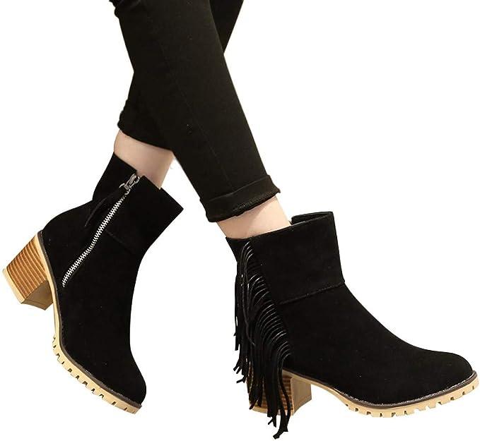 TianWlio Boots Stiefel Schuhe Stiefeletten Frauen Herbst