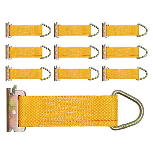 """Trekassy 10 Pack E Track Rope Tie Offs, 2"""" x 6"""" E-Track, used for sale  Delivered anywhere in USA"""