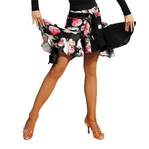 black fringe latin dress - 4