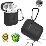 PodSkinz AirPods Case Protective Silicone Cover...