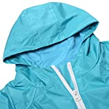 Zaclotre Baby Girl Boys Waterproof Plain Hooded