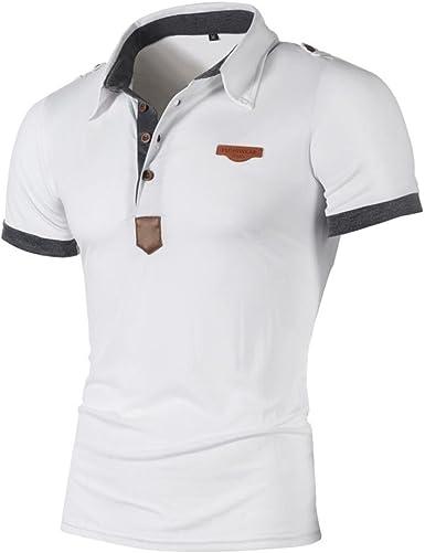 Camiseta para Hombre, 💝Xinantime Camisa Casual para Hombres Camiseta Delgada de Manga Corta con Letras Top Personalidad de la Moda Blusa, M-2XL: Amazon.es: Ropa y accesorios