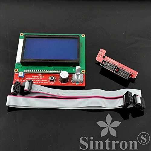 [Sintron] LCD 12864 Graphic Smart Display Controller for RepRap RAMPS 1.4 3D Printer Mendel Prusa Arduino Mega Pololu Shield Arduino RepRap by Sintron