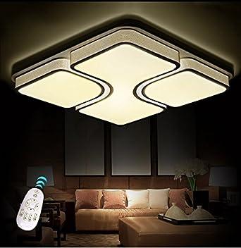 LED Deckenleuchte 2021 435X43524W Acryl Schirm Schwarz Lackierte Rahmen Durchbohrte Design Mit