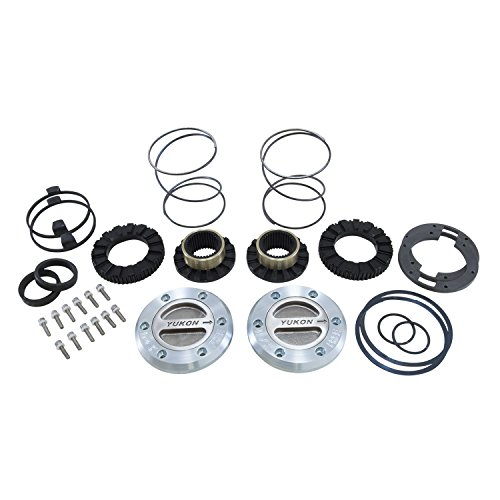Yukon Gear & Axle (YHC70002) Locking Hub Kit for Dana 60 35 Spline (Best Dana 60 Locking Hubs)