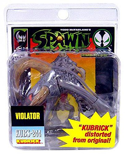 McFarlane Toys Spawn Kubrick Mini Figure Violator (Grey) (Spawn Mini Figures)