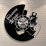 Breaking Bad Vinyl Record Clock Home Design Room Art Decor Handmade Vintage For Sale