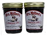 Seedless Black Raspberry Jam (Amish Made) ~ 2 / 9Oz. Jars
