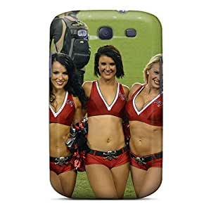 High Impact Dirt/shock Proof Case Cover For Galaxy S3 (tampa Bay Buccaneers Cheerleaders)