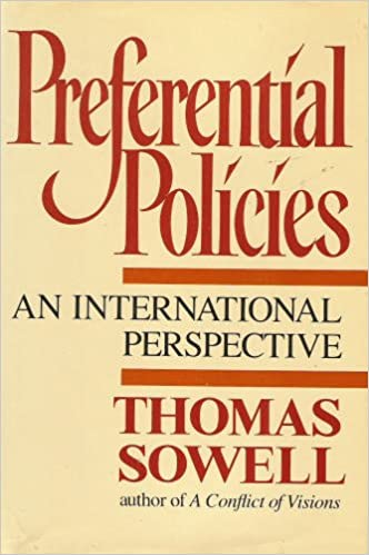 Preferential Policies: An International Perspective: Thomas Sowell