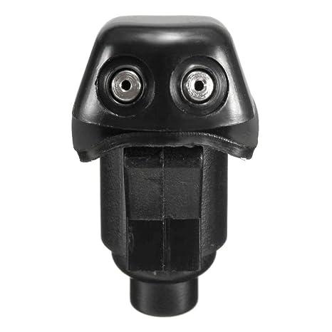 1pc limpiaparabrisas delantero limpiador de la boquilla de pulverización parabrisas arandela kit de boquilla para Jeep