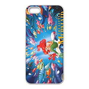 The little mermaid Case Cover For iPhone 5S Case