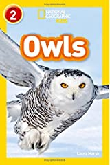 Owls: Level 2 (National Geographic Readers) Paperback