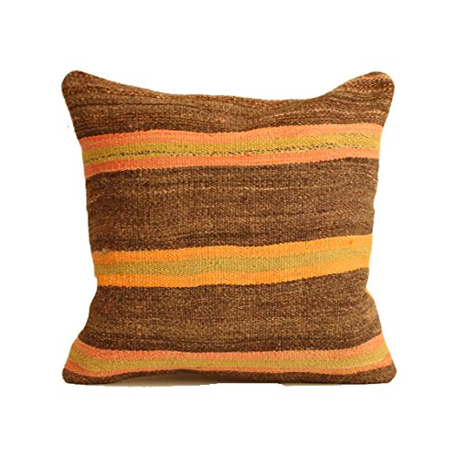 Kilim pillow, 24x24 kilim pillow cover, Turkish Pillow Suzani Pillow Moroccan Pillow Bohemian Pillow Kilim Cushion Large Pillow Floor Cushion Bohemian Pillow Big Pillow, Pouf - C455