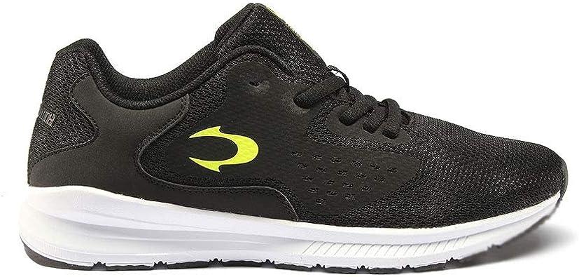 John Smith Refer 20v negro y verde zapatillas deportivas running para hombre