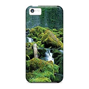 Awesome NoS34152AMpA RoccoAnderson Defender Hard Cases Covers For Iphone 5c- Proxy Falls Cascade Range Oregon