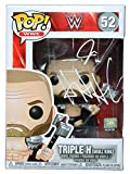 Triple H Skull King Signed Autographed WWE FUNKO