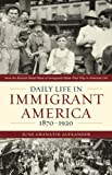Daily Life in Immigrant America, 1870-1920: How the Second Great Wave of Immigrants Made Their Way in America, June Granatir Alexander, 1566638305