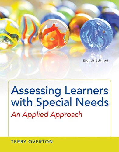 Assessing Learners with Special Needs: An Applied Approach