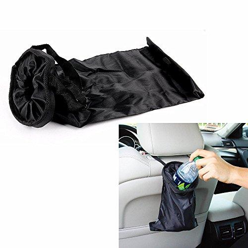 [MEGOOD 1Pcs Multi-function Vehicle Garbage Bag Car Auto Front or Back Seat Organizer Travel Storage] (Recycle Bin Costume)