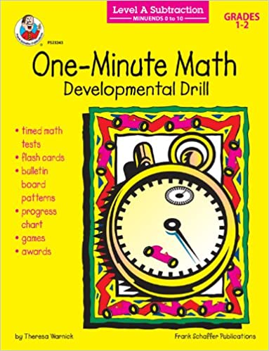 Subtraction: Minuends 0 to 10, Grades 1 - 2: Developmental Drill ...
