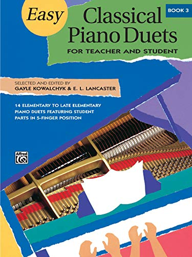 Easy Classical Piano Duets for Teacher and
