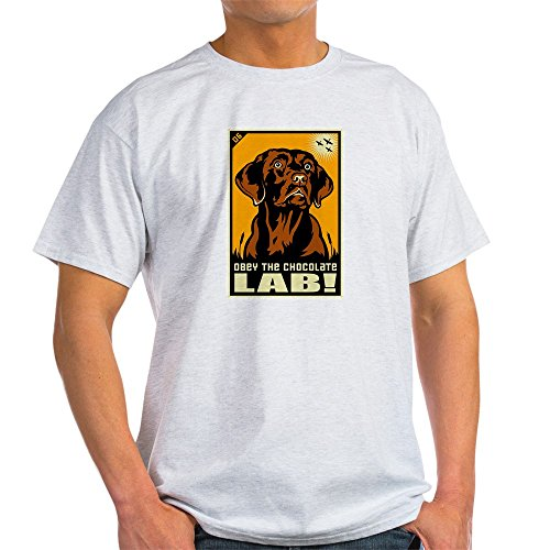Choc Lab (CafePress Choc_Lab_Blk_Tee T-Shirt - 100% Cotton T-Shirt)