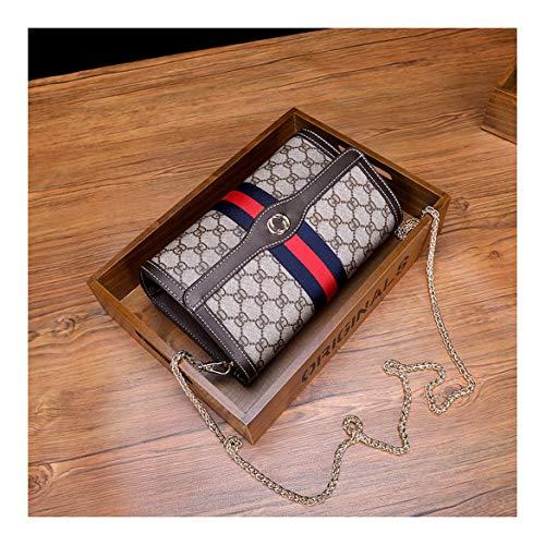 Xuzishan Spalla Square Caffè Signora Fashion Messenger Singola Crossbody Colore rosa Cross Pelle Borsa wwaCq6