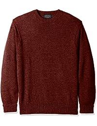Men's Shetland Crew Neck Sweater