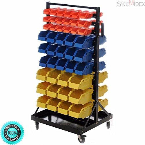Genial SKEMIDEX   Industrial 90 Bin Small Parts Tool Storage Shelf Hobby Tools  Rack Warehouse