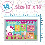 Hello Kitty Table Topper Disposable Stick-on