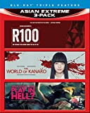 Asian Extreme 3-Pack: R100 / The World of Kanako / Why Don't You Play in Hell? [Blu-ray]