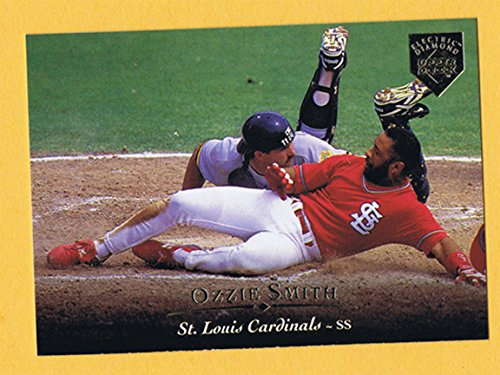 1995 Upper Deck Rare Electric Gold (Mint) Insert Ozzie Smith Cardinals #60 (Memorabilia Upper Deck)
