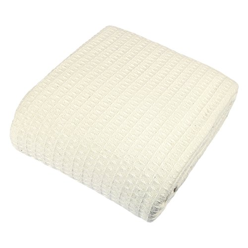 Cozy Bed Classic Blanket, Full/Queen, Ivory