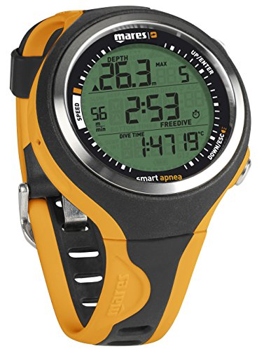 Mares Smart Apnea Free-Dive Computer - Black/Orange