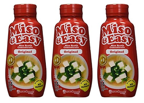 Marukome Miso Easy Original - 13.8 oz (Pack of 3)