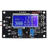 DROK DC-DC Adjustable 5A Buck Converter Stabilizer 6-32V to 1.25-32V Step Down Dual Amperage LCD Display Constant Volt Amp 6V 12V 24V Regulator Power Module