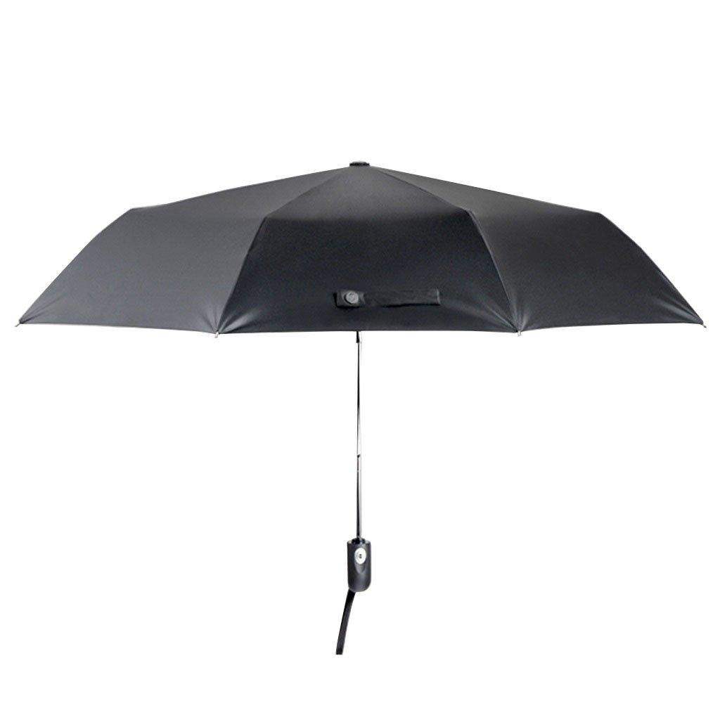 Vollautomatischer öffnender und schließender faltender Regenschirm ...