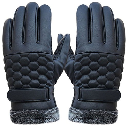 1-pcs-1-pair-optimum-popular-men-thermal-warm-leather-gloves-snow-decoration-touch-screen-winter-sea