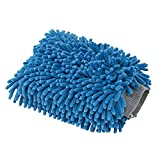Automotive : Chemical Guys MIC497 Blue Microfiber Wash Mitt, 1 Pack