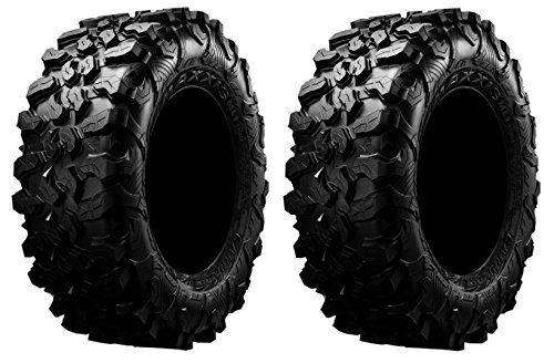 Pair of Maxxis Carnivore Radial (8ply) ATV Tires 29x9.5-15 (2)